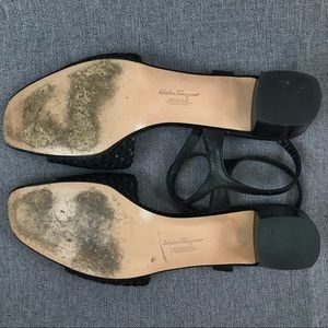 Salvatore Ferragamo Shoes - Salvatore Ferragamo 10.5N woven leather sandals